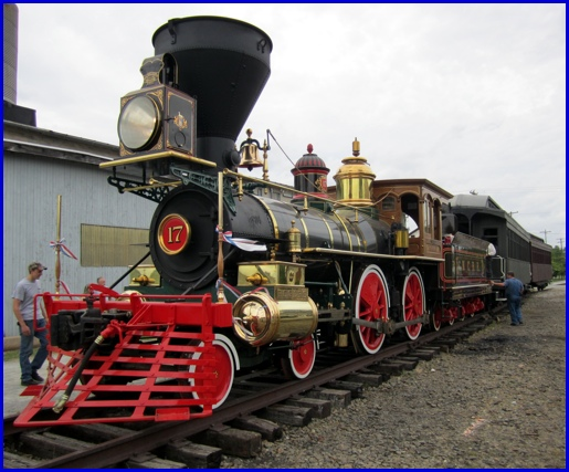 Why Is The Steam Into History Locomotive Named York 17